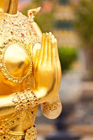 beautiful art in thailand Stock Photo - 18408076