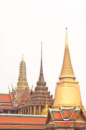 beautiful pagoda at wat phra kaew in thailand Stock Photo - 18408452