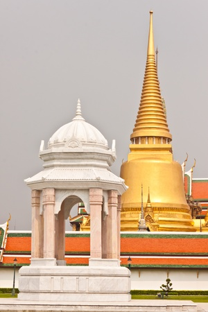 beautiful pagoda at wat phra kaew in thailand Stock Photo - 18408680