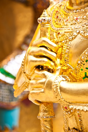 beautiful art in thailand Stock Photo - 18408539
