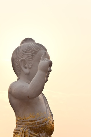 Sitthatta Prince statue in thailand photo