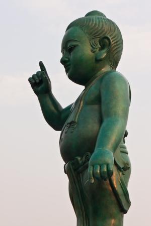 Sitthatta Prince statue in thailand photo