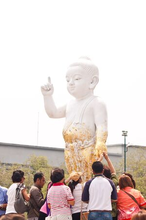 gautama: Gautama Buddha was born