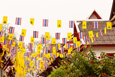 thai flag Stock Photo - 18580626