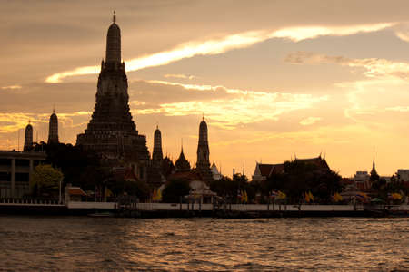 pagoda at wat arun bangkok of thailand Stock Photo - 18772422