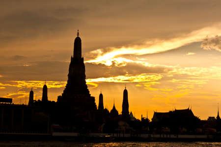 pagoda at wat arun bangkok of thailand Stock Photo - 18772731