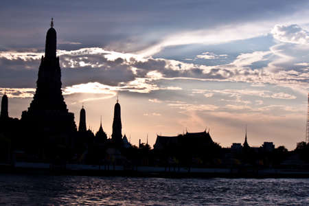 pagoda at wat arun bangkok of thailand Stock Photo - 18772590