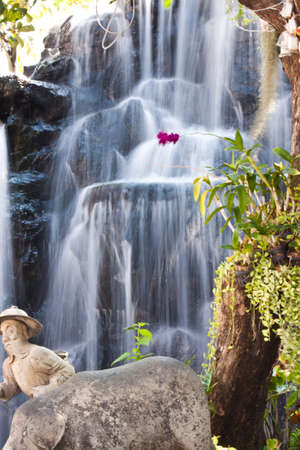 tempest: beauty of waterfall in thailand