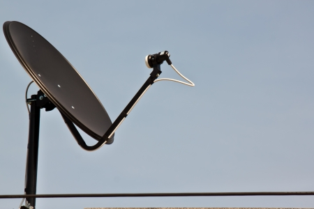 broadcast with blue sky photo
