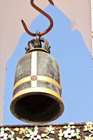 bell in buddhist, photo