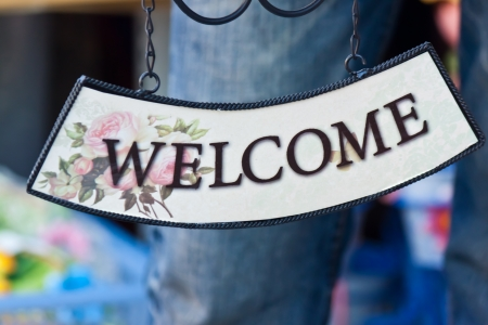 welcome desing photo
