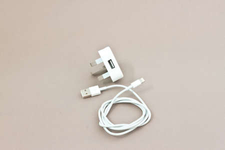 usb cable with three print plug photo