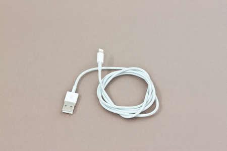 usb cable with three print plug photo