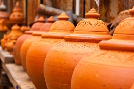 ceramicist: earthenware Stock Photo