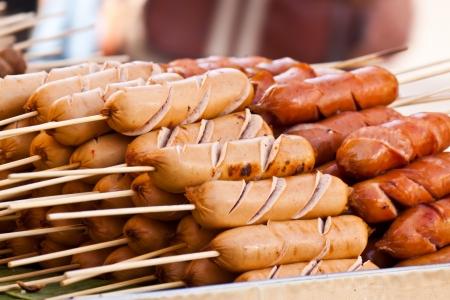 delicious sausage photo