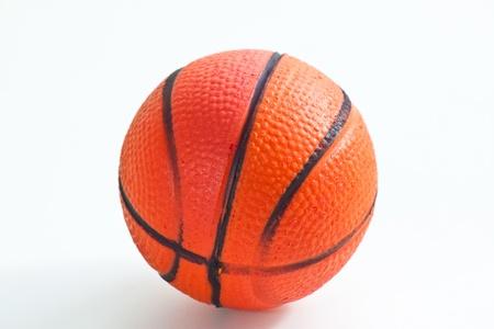 basketball on white paper photo
