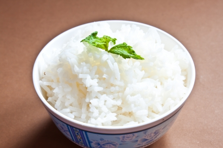 rice with mint photo