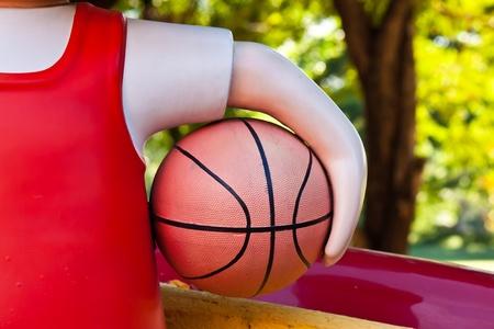 basketballs: holding basketballs