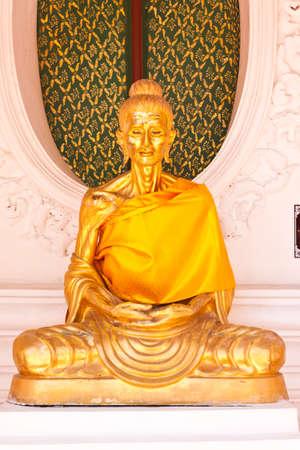 golden buddha in thailand photo