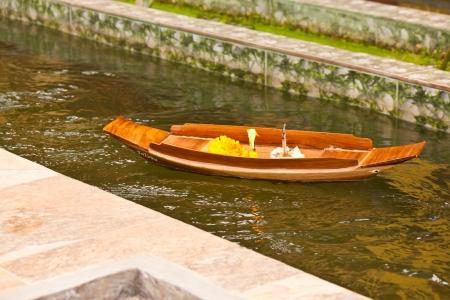 almsgiving: small boat