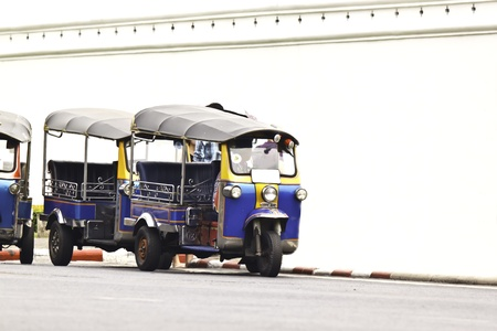 tuk tuk in thailand photo