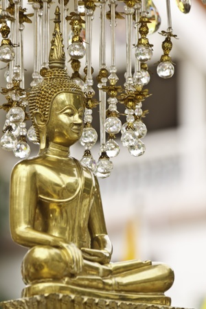 beauty of Buddha statue in thailand photo