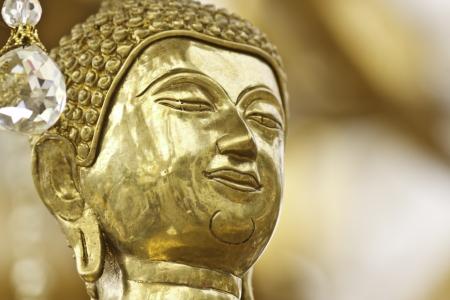 volto della statua di Buddha in Thailandia