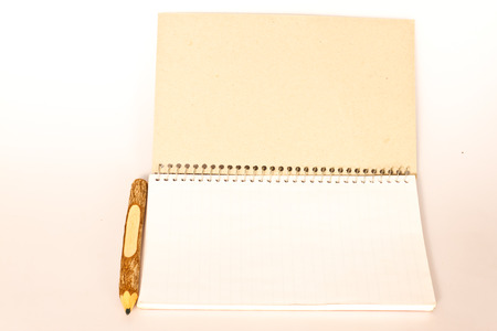 notebook on the paper photo