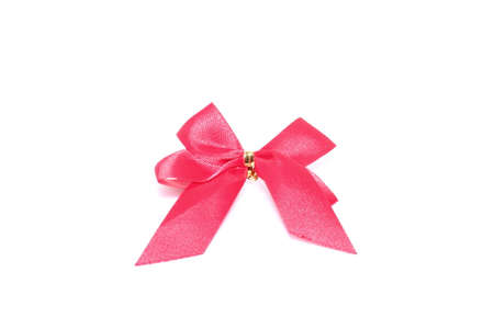 ribbon on white paper Stock Photo - 24740595