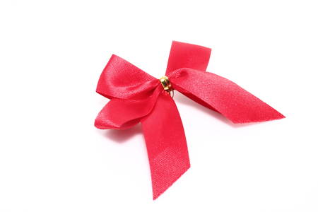 ribbon on white paper Stock Photo - 24740600