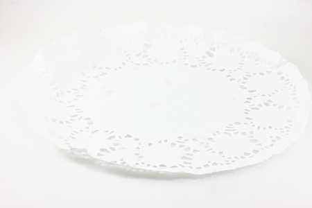 white paper tray