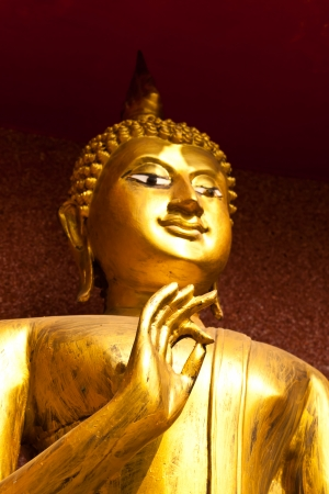 Beauty of Buddha statue photo
