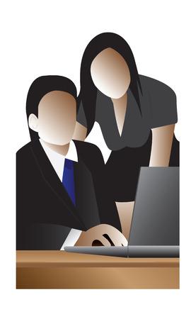 working people design Stock Vector - 26585234
