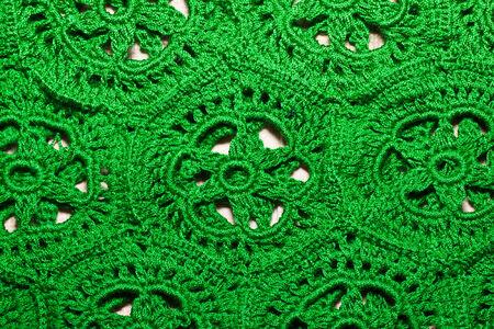 needle lace: the handicraft Stock Photo