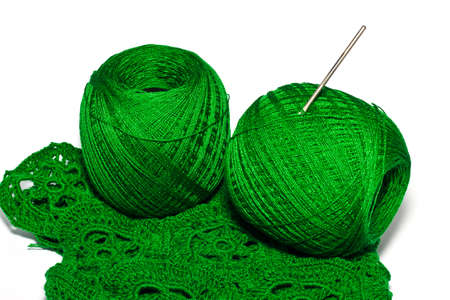 string together: the silk for knitting work