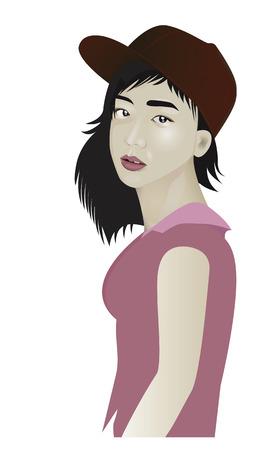 lovely girl: el dise�o encantador de la muchacha