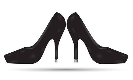 little girl feet: the bootee design Stock Photo