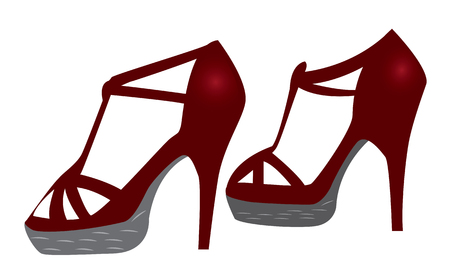 vermeil: the shoe vector design