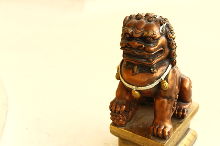 the lion statue photo