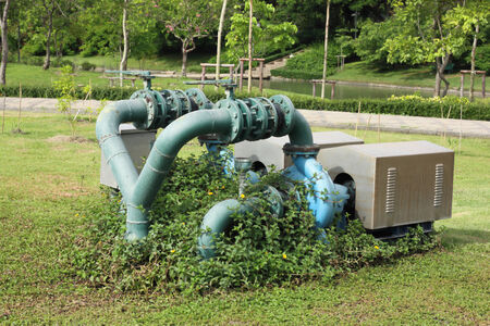 pump of water photo