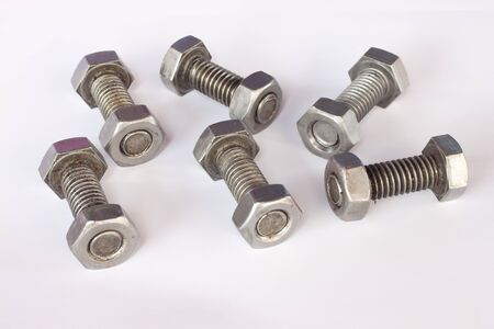 screw on paper background photo