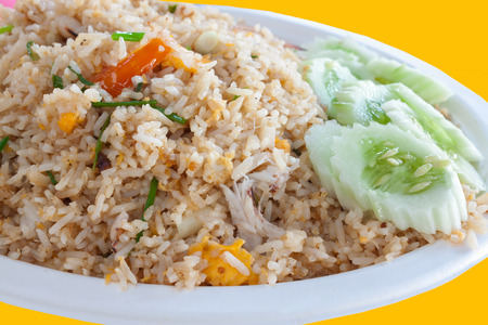 crab fried rice photo