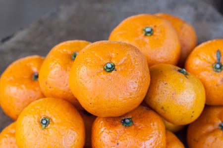 il frutto arancione