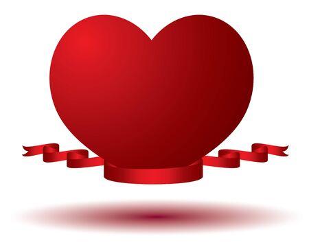 lovely: lovely heart vector design Illustration