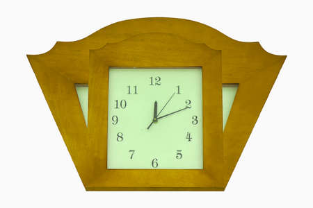 scrapbook homemade: the wood clock
