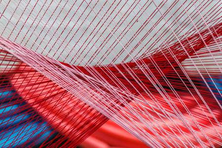 nylon string: nylon background