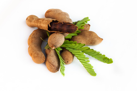 tamarind on paper background photo
