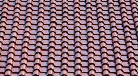 continuation: ceramic roof Stock Photo