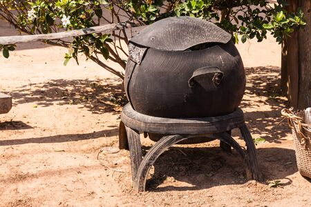 scrapheap: trash made from tire