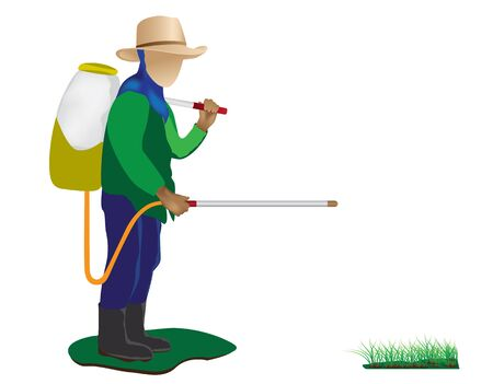 agriculturist: the agriculturist vector design